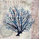 Indigo Coral I Posters by Elizabeth Medley