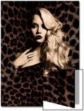 Luxury. Elegant. Jaguar. Poster