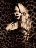 Luxury. Elegant. Jaguar. Photographic Print