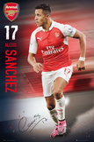 Arsenal- Sanchez 15/16 Affiches