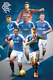 Rangers- Players 15/16 Poster
