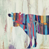 Rhizome Cow Plakat af Ann Marie Coolick