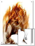 Beautiful Hair, Burning Flame Art
