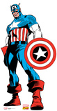 Captain America - Marvel Comics Lifesize Standup Cardboard Cutouts