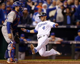 2015 World Series Game Two: New York Mets V. Kansas City Royals Photographie par Brad Mangin
