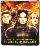 The Hunger Games Mockingjay Fleece Blanket Fleece Blanket