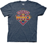 Doctor Who- Vintage 70's Logo Shirts