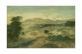 Landscape Giclee Print by Jean Francois I Millet