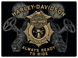 Harley-Davidson Gauges Tin Sign
