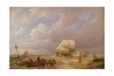 Pampas on the Zuider Zee, 19th Century Giclee Print by Pieter Cornelis Dommerson