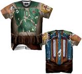 Boba Fett Sublimated Costume Tee Tshirts