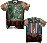 Boba Fett Sublimated Costume Tee T Shirts
