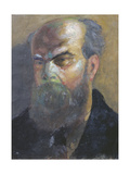 Portrait of Paul Verlaine (1844-96) Giclee Print by F.A. Cazals