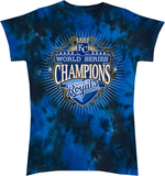 Juniors: KC Royals- 2015 World Series Champions Shirts