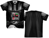 Darth Vader Sublimated Costume Tee T-Shirts