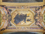The Resistance of Paris, Ceiling Painting from the Galerie Des Glaces Photographic Print by Charles Le Brun