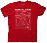 Playstation- Weekend Plans T-shirts
