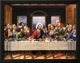 Leonardo Da Vinci (Last Supper) Art Poster Print Poster