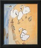Swans Prints by Lindsay Kelsall