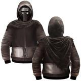 Kylo Ren Sublimated Costume Zip Hoodie Zip Hoodie