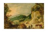 Mountain Landscape Giclee Print by Joos de Momper