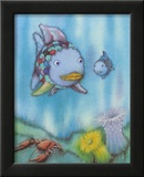 Rainbow Fish and the Little Blue Fish Poster by Marcus Pfister