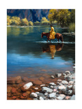 Shallow Crossing Metal Print by Jack Sorenson
