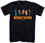 The Fifth Element- 8bit Cast T-Shirt