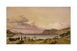 Valentia Bay Giclee Print by Edward William Cooke