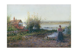 Bawdsey Ferry, Near Felixstowe Giclee Print by George Henry Boughton