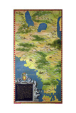 Map of the Strait of Magellan Giclee Print by Stefano Bonsignori