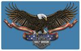 Harley-Davidson Eagle Banner Tin Sign
