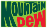 Mountain Dew 1970's Logo Tin Sign