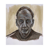 Portrait of Frank Auerbach, 2002 Giclee Print by Stevie Taylor