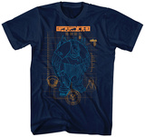 The Fifth Element- Mondo Schematic T-Shirt