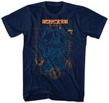 The Fifth Element- Mondo Schematic T-Shirt