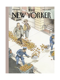 The New Yorker Cover - November 9, 2015 Regular Giclee Print by John Cuneo