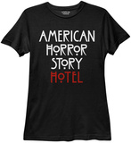 Womans: American Horror Story- Hotel Logo T-Shirt
