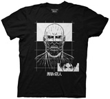 Attack On Titan- Grid T-Shirt