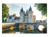 Sully-Sur-Loire Chateau France Poster