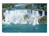 Niagara Falls Aerial Panorama Prints