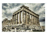 Parthenon Temple on Acropolis Print