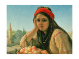 Syrian Fruit Seller Giclee Print by William Gale