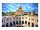 Texas Capitol Building Austin Art