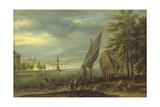 Harbour Landscape Giclee Print by Joachim Franz Beich