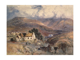 Scottish Landscape Giclee Print by Sir Joseph Noel Paton