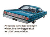 Plymouth Belvedere is Longer… Prints