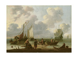 Seascape Giclee Print by Ludolf Backhuysen