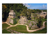 Palenque Mayan Ruins Chiapas Poster