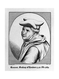 Edmund Bonner, Bishop of London 1540 Giclee Print by George Perfect Harding